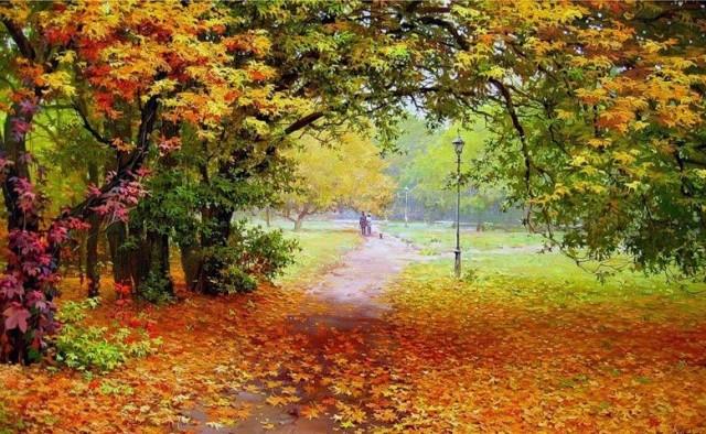 Hans Andersen Brendekilde (1857-1942) - autunno 2