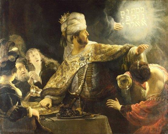 1024px-Rembrandt-Belsazar National Gallery, London