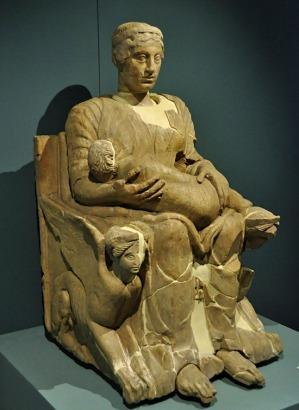 mater matuta dea del Mattino o dell'Aurora Firenze Museo Archeologico Nazionale